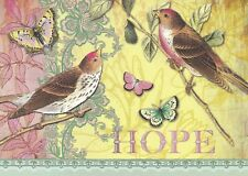 "Greeting Card - Birthday - ""HOPE - BLESSED BE GOD..."" - by Jennifer Parker!"