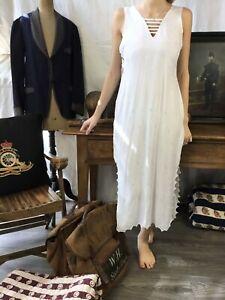 Vtg French Silk Dress 1920 Colonial era Silk Dress 1930 Printed Silk Robe Ancien