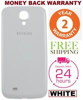 Battery Back Door Replacement Cover WHITE For Samsung Galaxy S4 i9500 i9505 i337