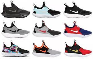 Nike Flex Runner Shoes Sneakers Little Kids Boys Girls Preschool Gym Slip-On NIB