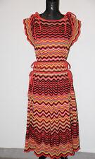 8000de49faf M Missoni crochet-knit waves cotton-blend w  lurex dress sz US 4