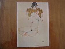 CP carte postale Postcard nu artistique EGON SCHIELE 1913