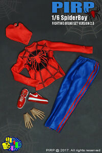 PIRP 1/6 Scale Spider Boy Fighting Arena Set For Hot Toys Figure Body