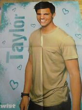 Taylor Lautner, Four Page Foldout Poster