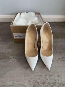 Christian Louboutin Heels So Kate 120 Patent White Size EU 36.5