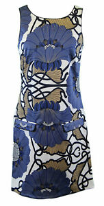 ELIZABETH MCKAY Twiggy Multi-Color Floral Sleeveless Dress Sz 2 5068 $280 NWT