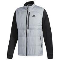 Adidas Golf Men's Climaheat Primaloft Full Zip Jacket - Mid Grey