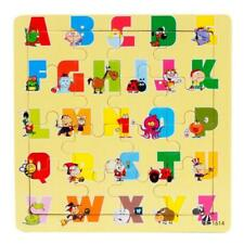 Wooden Kids 16 Piece Jigsaw Toys Education And Learning Puzzle Toys Top