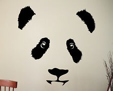 Panda Wall Decal Chinese Bear Vinyl Sticker Wildlife Art Animal Head Decor 8apaz