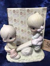 "Precious Moments ""Love Lifted Me"" Figurine #E-1375/A"