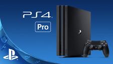 SONY PLAYSTATION PS4 PRO CONSOLE  - 1TB 4K BLACK - NEW & SEALED