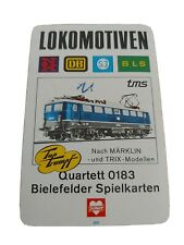 Quartett - Lokomotiven  / Bielefelder Spielkarten Nr. 0183