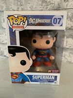 Funko Pop! Superman #07 Free Pop Protector! PX PREVIEW EXCLUSIVE