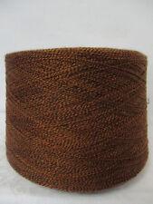 """Wolle Kone 1Kg 12€/Kg""""braun-schwarz mel.""""50%WV-50%AC Nm 15/2 auch für Socken"""