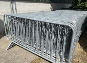 Pedestrian Barrier - Crowd Control Barrier - Temporary Barrier