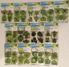 INKADINKADO STAMPING GEAR CLING STAMPS 13 PACKAGES