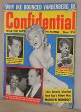 Confidential Nov.1956 Marilyn Monroe/ Marlon Brando ~ WH