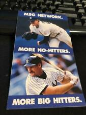 2 1988 New York Yankees Baseball Pocket Schedules Yankees LOT  OF TWO