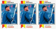 (3) 1993 SCD #20 Gary Sheffield Baseball Card Lot San Diego Padres