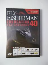 Fly Fisherman 40 Foundation Fly Patterns Dvd New 101 Beginner