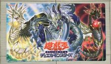 Yugioh TCG Playmat Guardragon Pisty,Agarpain & Elpy Neoprene Game Mat Mousepad