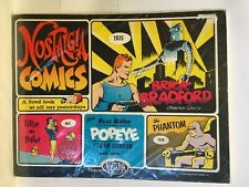 Nostalgia Comics #3 Comic Strip Reprints Collection The Phantom Popeye