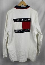 Vintage Tommy Hilfiger Big Flag Logo Longsleeve Polo Sz XL