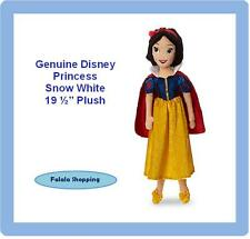 "FALALA GENUINE DISNEY PRINCESS SNOW WHITE 19.5"" SOFT PLUSH DOLL"