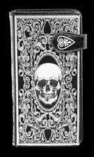 porte-monnaie avec tête de mort - Tarot - Gothique Portefeuille Crâne
