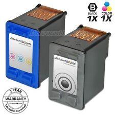 2PK For HP 56 57 C6656AN C6657AN Ink PhotoSmart 7150 7260 7350 7450 7550 7760