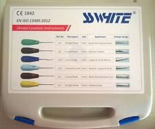SS White Dental Luxation Instruments set of 6. WS