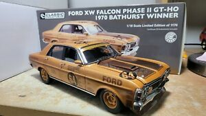 Classic Carlectables 1:18 Ford XW Falcon Phase 2 GTHO 1970 Bathurst Winner...