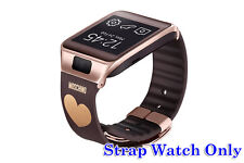 Original OEM Samsung Gear 2/Neo Wrist Strap Band Brown Gold Heart **STRAP ONLY**