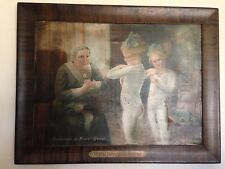 Antique 1914 Perfection of Munsingwear Advertising Painting