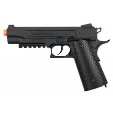 Lancer Tactical Cobra 1911 CO2 Half-Blowback Airsoft Pistol BLACK LTX-50B