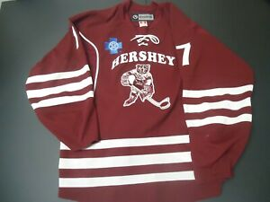 Hershey Bears game worn De Kastrozza throwback jersey size 54