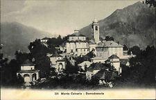 Domodossola Italien Italia Piemont ~1910 Monte Calvario Kirche chiesa Panorama
