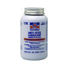 3 PACK - Permatex 80078 Anti-Seize Lubricant with Brush Top Bottle, 8 oz.