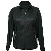 New With Tag Tangerine Ladies Active Jacket Size Small Color Black