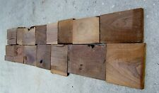 Black Walnut board pcs, 3/4 thk planed 2 sides, kiln dried, seasoned 40+ yr
