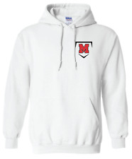 *Melissa High School Cardinals Baseball / Softball Small M Home Plate Hoodie