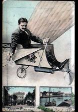 LORIENT (56) SOUVENIR par AVION ... THEATRE & HOPITAL de la MARINE en 1912