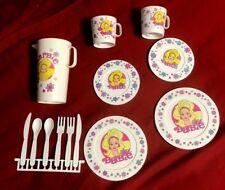 vintage Barbie Chilton Globe 13 Piece Tea Set (#54220) Plastic Pitcher/Plates+