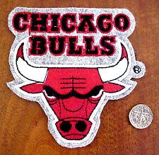 NBA BASKETBALL JORDAN CHICAGO BULLS EMBROIDERED LOGO PATCH