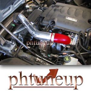 RED 2006-2009 SATURN SKY PONTIAC SOLSTICE 2.4 2.4L AIR INTAKE KIT + FILTER