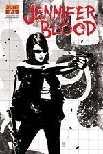 JENNIFER BLOOD #8 VF/NM DYNAMITE GARTH ENNIS BRADSTREET VARIANT COVER