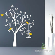 Wall Stickers Tree Kids Nursery Flower Art Murals Decals Home Vinyl Decor-P147