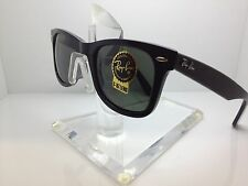 RAYBAN RB 2140F 901 RB2140F ASIAN FIT BLACK RAY BAN SUNGLASSES 52M 2140