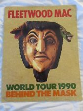 Fleetwood Mac 1990 Behind The Mask Concert Tour Program Book!