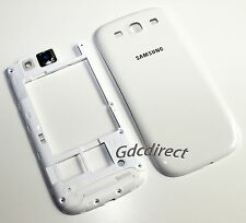 Housing Back Chassis Frame Cover Samsung Galaxy S3 i9300 T999 i747 i535 White